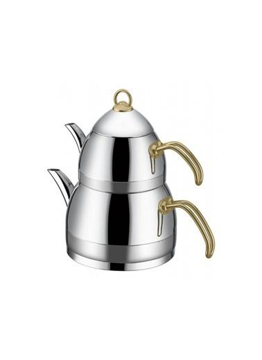 Taç TACFESTA-5805 Taç Festa Aile Boyu Çaydanlık Gold Tac-5805 Renkli